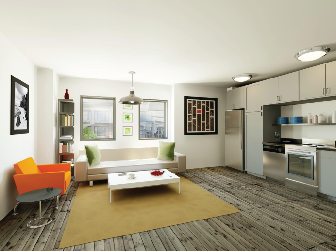 Flats Chicago unit rendering